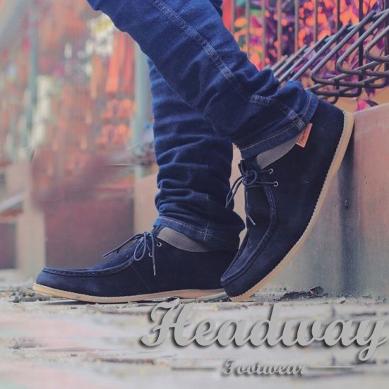 Headway 05   loyal black shoes casual only $13