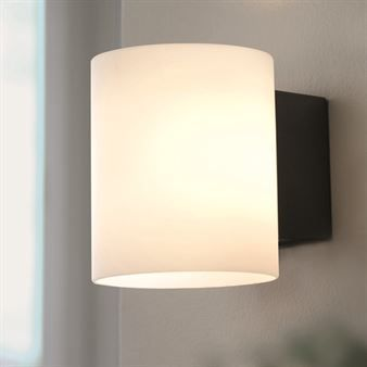 Evoke wall lamp - anthracite-white glass - Herstaln -till trappväggen?