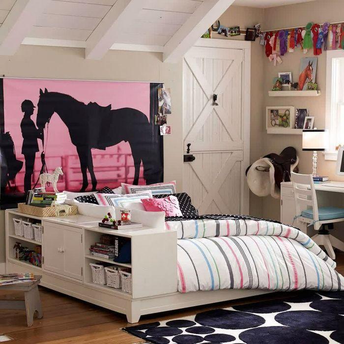 Innendesign Dachgeschoss Gestalten Jugendzimmer Mädchen ähnliche Tolle  Projekte Und Ideen Wie Im Bild Vorgestellt Findest Du