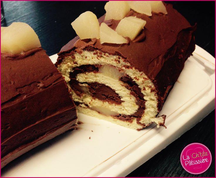 Une recette très rapide (moins de 30 minutes !! Si si c'est vrai je vous assure !!) de gâteau roulé, qui peut également être utilisée pour faire la fameuse