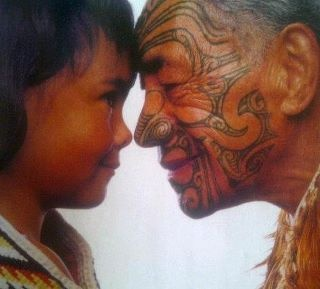 Hongi - there is something about this simple act that has always had a profound effect on me. Such a beautiful tradition.