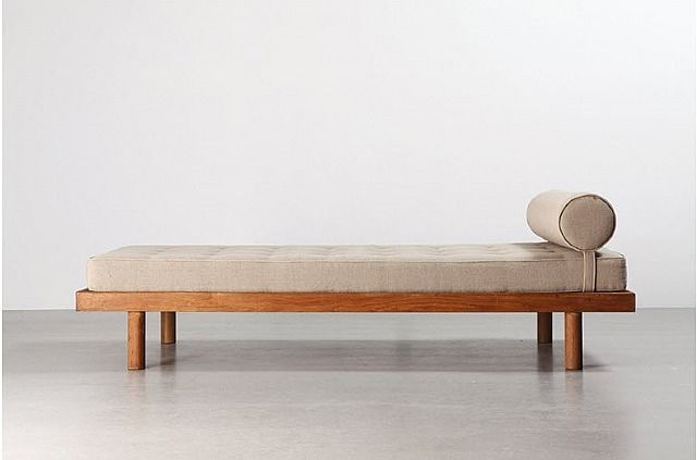 Charlotte Perriand, Lit simple / Single bed