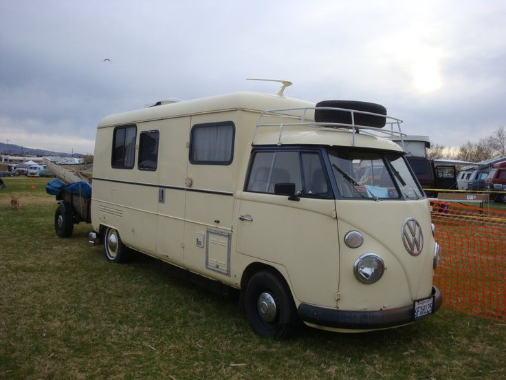 All the lovability of a VW bus with a little more space and headroom.
