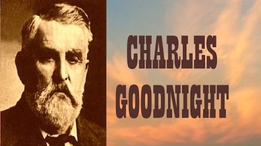 """Cattle baron Charles Goodnight developed the """"chuck wagon"""" as a way to feed and care for the men who spent long days and nights on the hot, dry, dusty range. Goodnight ranked as one of the most successful cattlemen on the American frontier. He and Oliver Loving established the 500-mile long Goodnight-Loving Trail. """"TRAILBLAZER."""" http://tomrizzo.com/trailblazer/ #TomRizzo"""