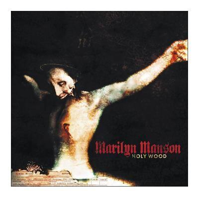 """L'album di #MarilynManson intitolato """"Holy Wood""""."""
