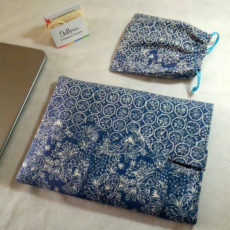 DeNesia's Ethnic Batik Laptop Sleeve | Sarung Laptop Batik | LS07
