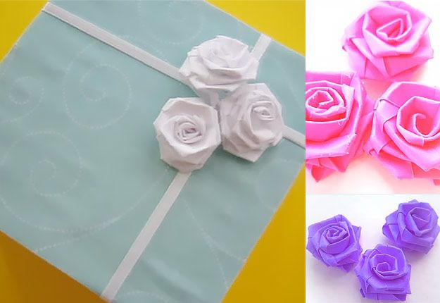 Cool Arts and Crafts Ideas for Teens, Kids and Even Adults | Cheap, Fun and Easy DIY Projects, Awesome Craft Tutorials for Teenagers | School, Home, Room Decor and Awesome Gift Ideas | paper roses | http://diyprojectsforteens.com/arts-and-crafts-ideas-for-teens