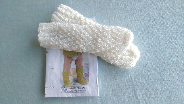 Ravelry: guroso's Spiral baby socks