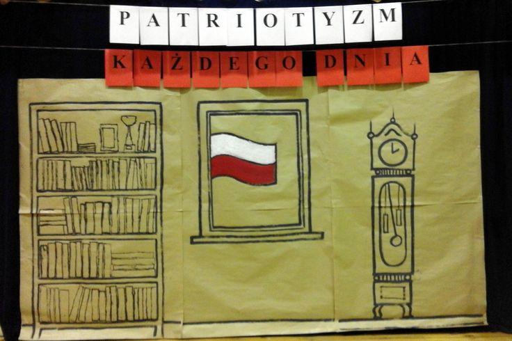 Dekoracja z okazji Narodowego Święta Niepodległości