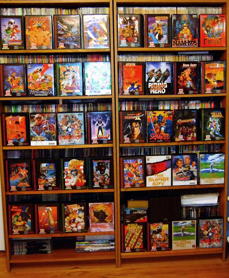 Neo Geo Games   SNK NEO-GEO Collection @ Video Game Obsession (c) Matthew Henzel