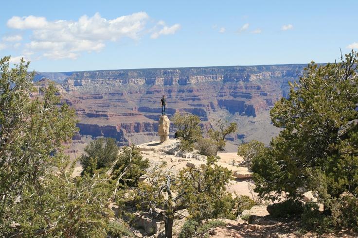 Grand Canyon National Park, AZ.  Hidden gem of an overlook.