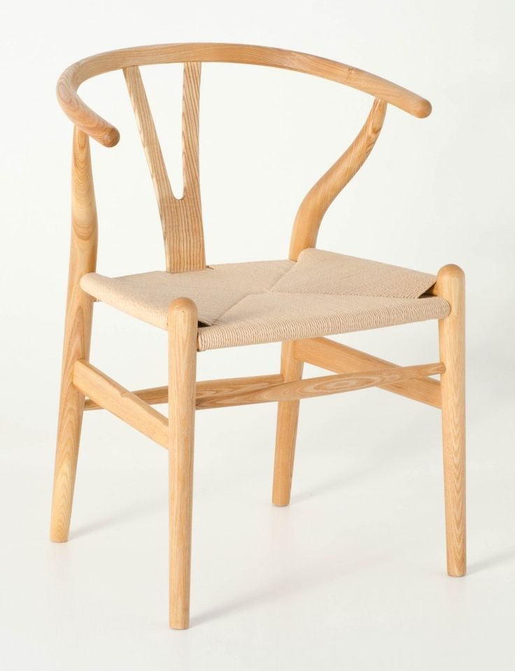 Milano Republic Furniture - Replica Hans Wegner Wishbone Chair - Natural Frame (grain visible) Natural seat - Ash Timber, $195.00 (http://www.milanorepublicfurniture.com.au/replica-hans-wegner-wishbone-chair-natural-frame-grain-visible-natural-seat-ash-timber-1/)