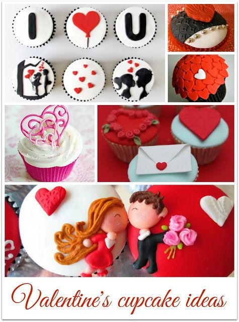 Valentine's cupcake ideas