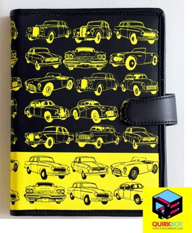 Quirk Box Planner from the Vintage Cars Series