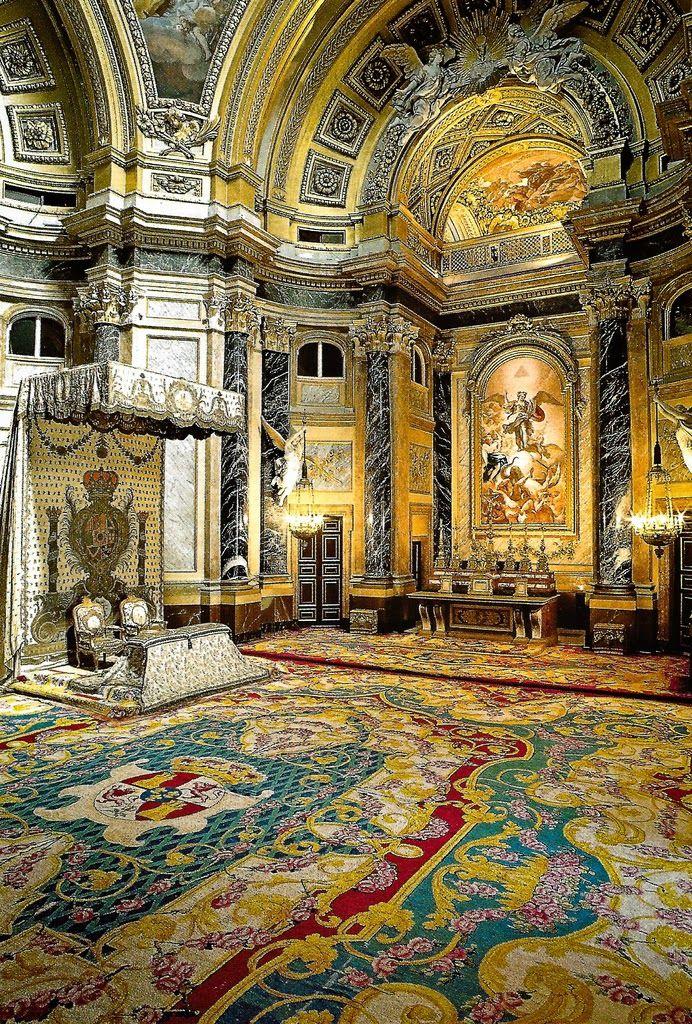 The Palacio Real de Madrid, Spain