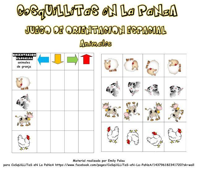 CoSqUiLLiTaS eN La PaNzA BLoGs: JUEGO DE ORIENTACIÓN ESPACIAL ( COSQUILLITAS EN LA...