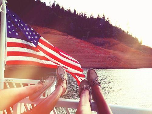 Actually wearing Sperrys on a boat. #TSM