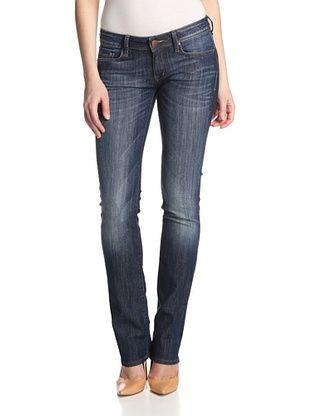 45% OFF Mavi Women's Annie Straight Leg (34Inseam) (Rinse Brushed Nolita)