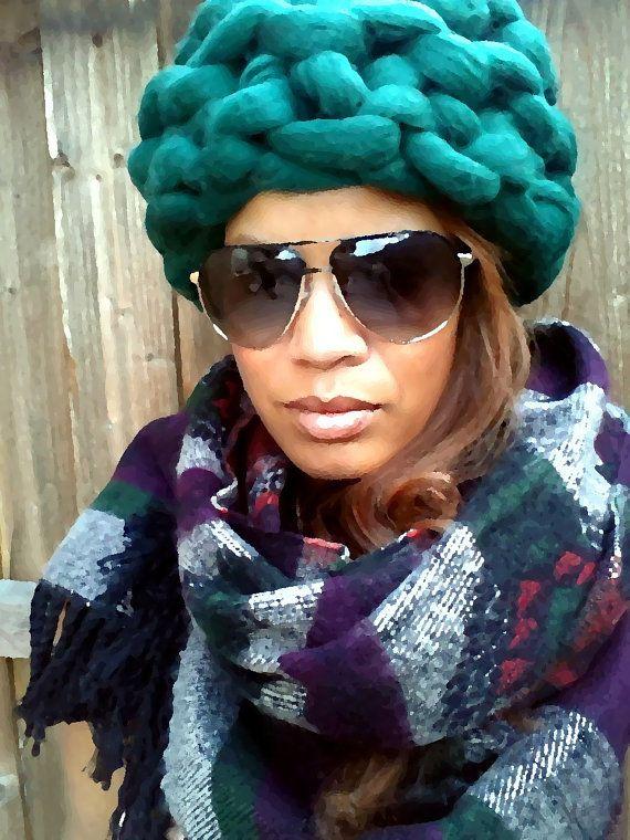 Giant Knit Beanie by IAMgiganticknit on Etsy  3cf638fad