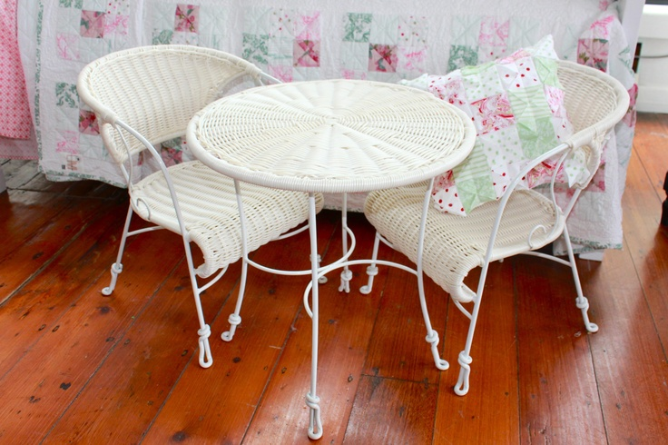 Tea Time Table & Chairs