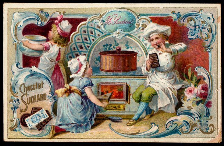 Днем, конфеты ретро открытка