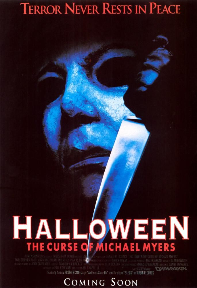 halloween the curse of michael myers posters for sale online buy halloween the curse of michael myers movie posters from movie poster shop - G Halloween Movies