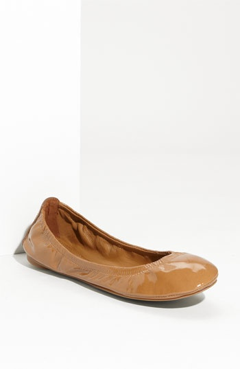 Perfect ballerina flat by Tory Burch