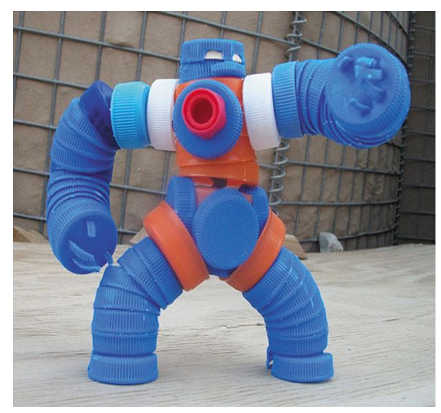 Toys Made Out of Trash
