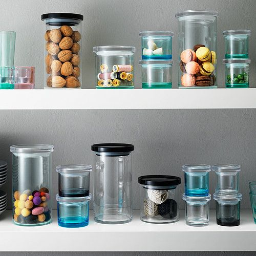 Stackable and stylish glass jars - iittala Summer Sale 2013