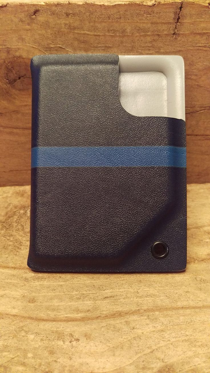 """""""Swine Gear"""" Kydex pocket wallet and badge holder, Police """"Thin Blue Line"""" ~By WP~ …"""