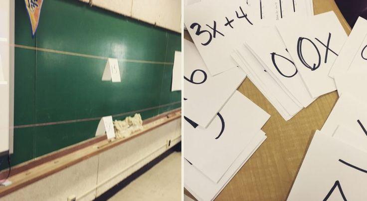 clothesline math solving algebraic equations