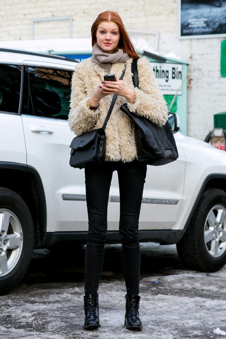 Model Street Style New York Fashion Week 2014 #NYFW
