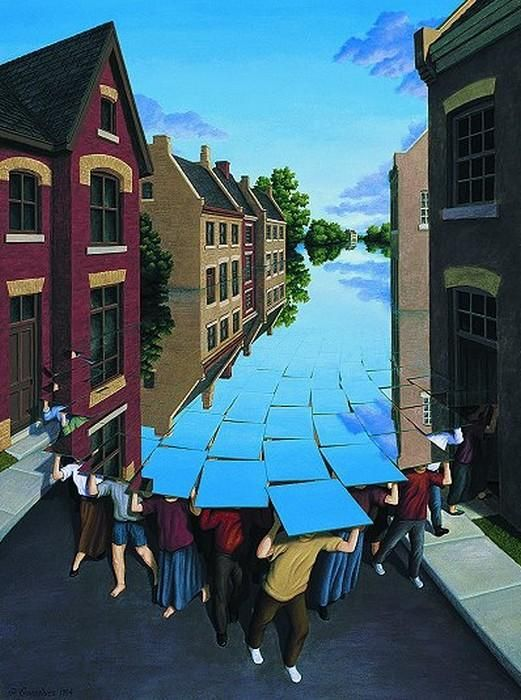 Rob Gonsalves 4  - Optical Illusion Paintings by Rob Gonsalves  <3 <3