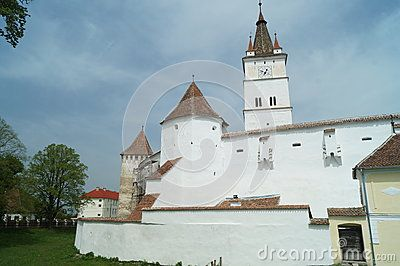 The fortified church of Harman the 13th century, Brasov,Transylvania, Romania