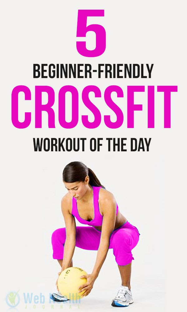5 Beginner-Friendly CrossFit Workout of the day. We cannot talk about fitness trend without Cross Fit entering the conversation. The most important thing about #Cross_Fit is that, anyone can join it. A man who work in office or player and common herd of people.