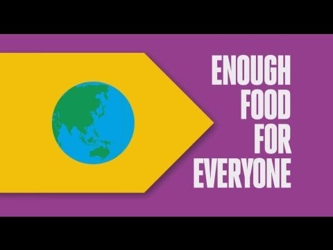 The world produces enough food for everyone, but not everyone has enough food. Take action here: http://www.oxfamireland.org/if #IF #Oxfam