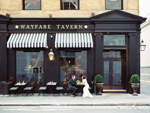 San Francisco wedding, downtown wedding reception, wedding dinner, intimate wedding, Wayfare Tavern wedding, San Francisco wedding photography, Emily Scannell photography