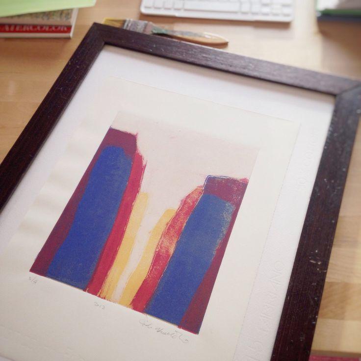 Framing prints.