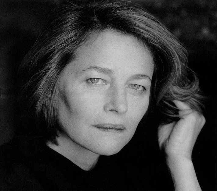 Charlotte Rampling, 63 at the time of the photo shoot.