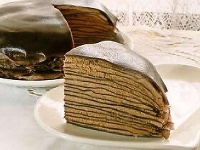 ホット ミックス クレープ ケーキ