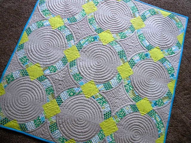 16 best my quilts images on Pinterest | Double wedding rings ... : longarm quilting blogs - Adamdwight.com