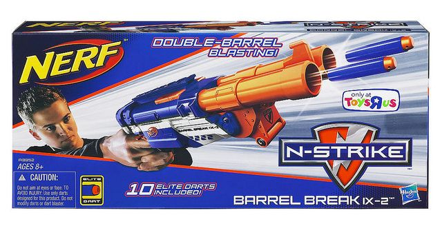 Urban Taggers.: Nerf Barrel Break IX-2: How Elite are you REALLY?