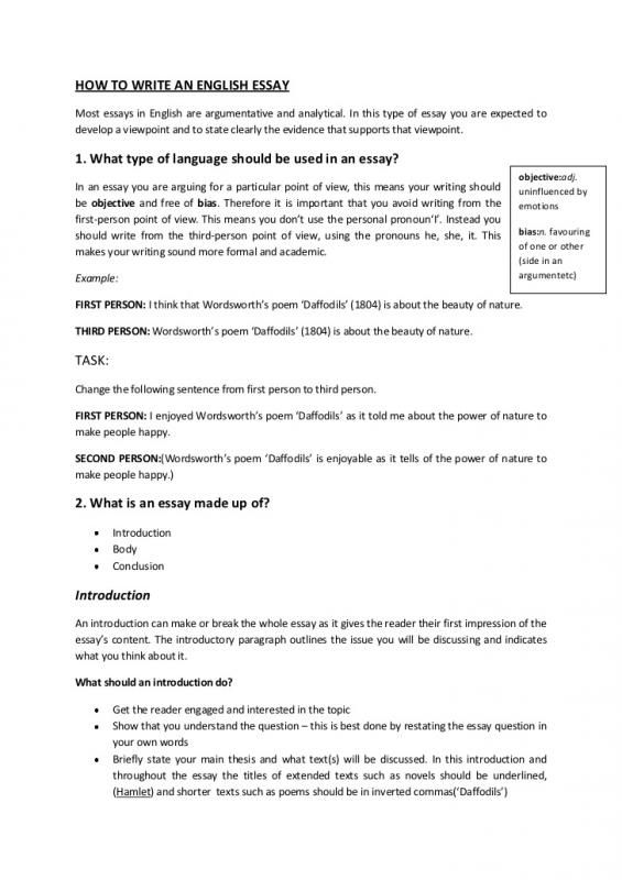 Argumentative Essay Outline Template On Punctuality