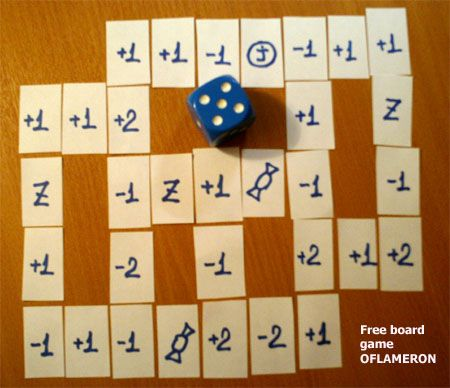 Handmade games. he board game is designed for the children over 6. Parents and children may have a lot of fun making it and playing together (the construction takes from ten to fifteen minutes)...