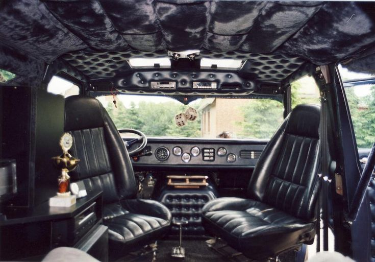 Custom Van Interior Darth Vader Would Be Proud Of Ford