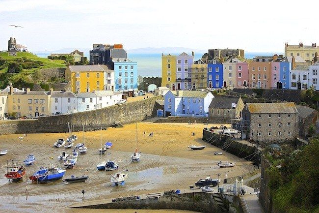 Tuscany? No… just Tenby in Wales.   33 Beaches You'd Never Believe Were In Britain