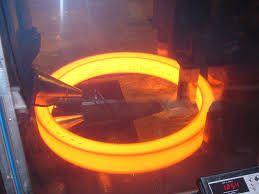 steel forgings - red hot steel