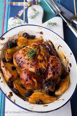Receta de Pollo Asado con Salsa Barbacoa, Mostaza y Miel (La cocina de Frabisa)