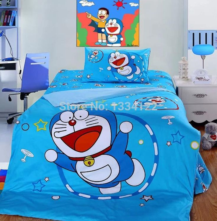 Find More Bedding Sets Information about China cartoon blue doraemon 3 pieces children bedding set,High Quality bedding set princess,China bedding set purple Suppliers, Cheap bedding sets queen comforter from Amymoremore mall on Aliexpress.com