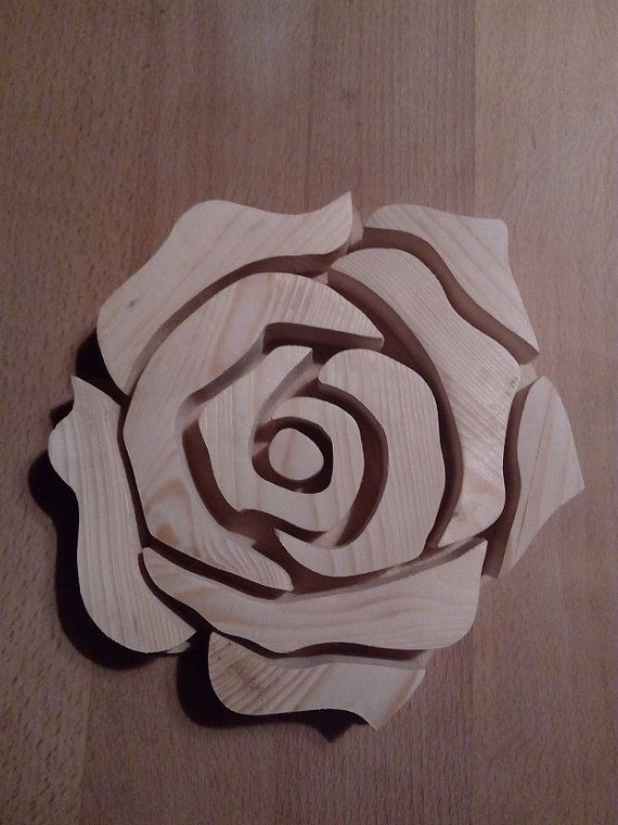 Trivet / Pot Holder - Rose